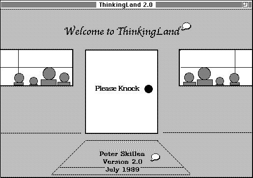 ThinkingLand - Opening Screen
