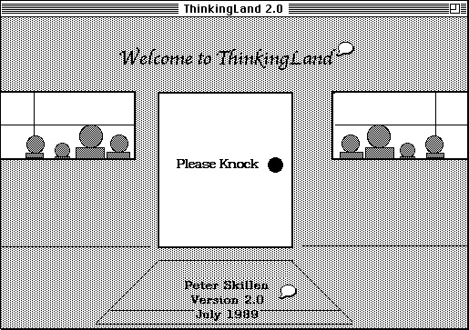 ThinkingLand - Opening Screen